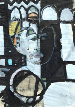 Faces of The Queen Abstracted Figurative