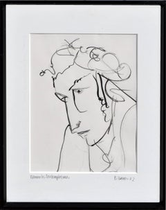 Woman in Contemplation Figurative
