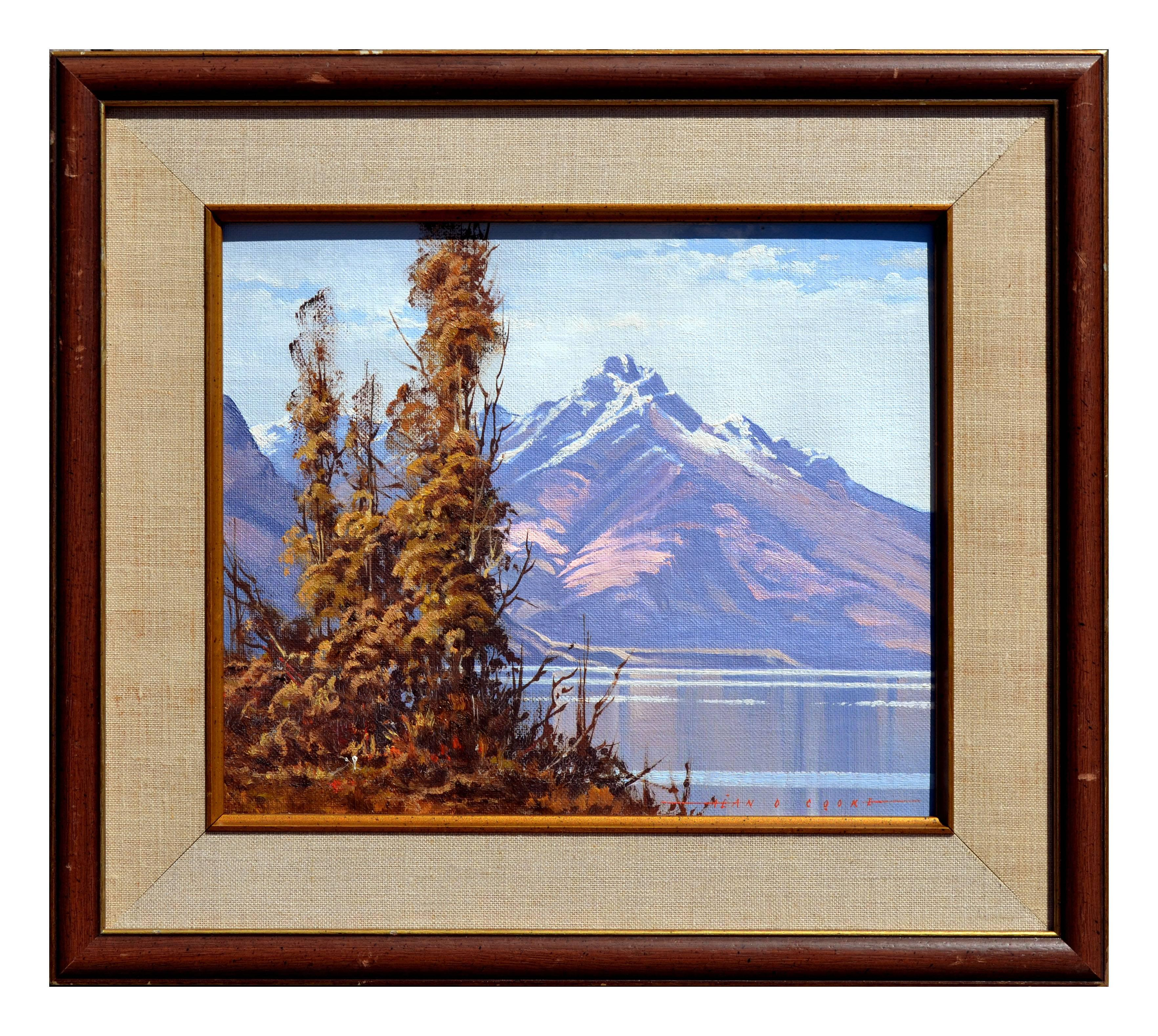 Purple Mountains Landscape