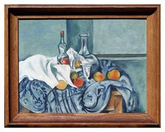 Still Life, Style of Cezanne