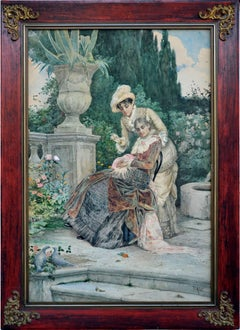 Ladies in the Italian Garden, 1870s