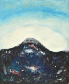 Birth of Hawai'i -- Abstracted Volcano Seascape