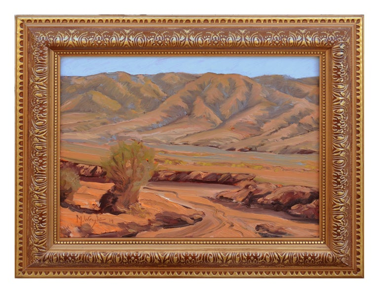 Mike Wright Landscape Painting - South of Death Valley Landscape