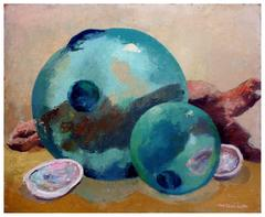 Fishing Floats and Abalone Still Life