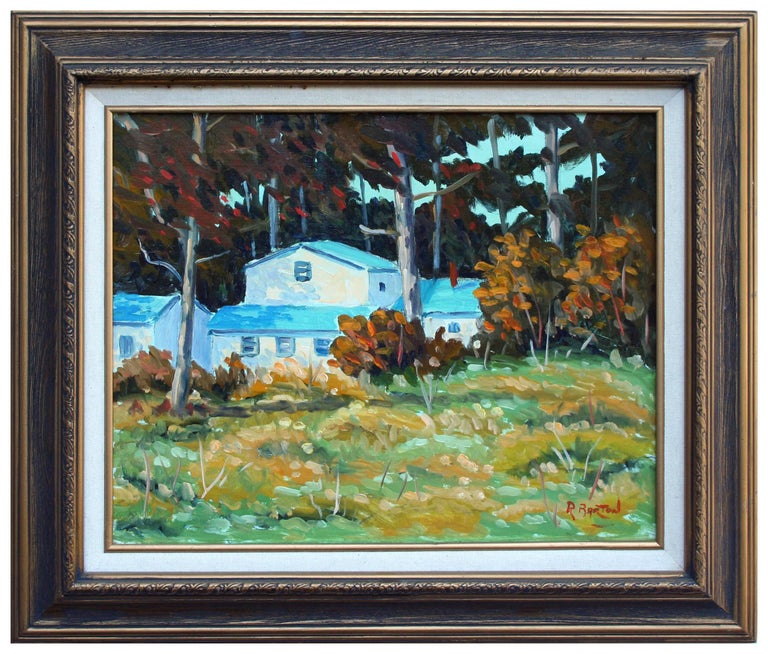 Ray Barton Landscape Painting - Pacific Grove Woods