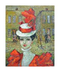 Lady in Red, Paris