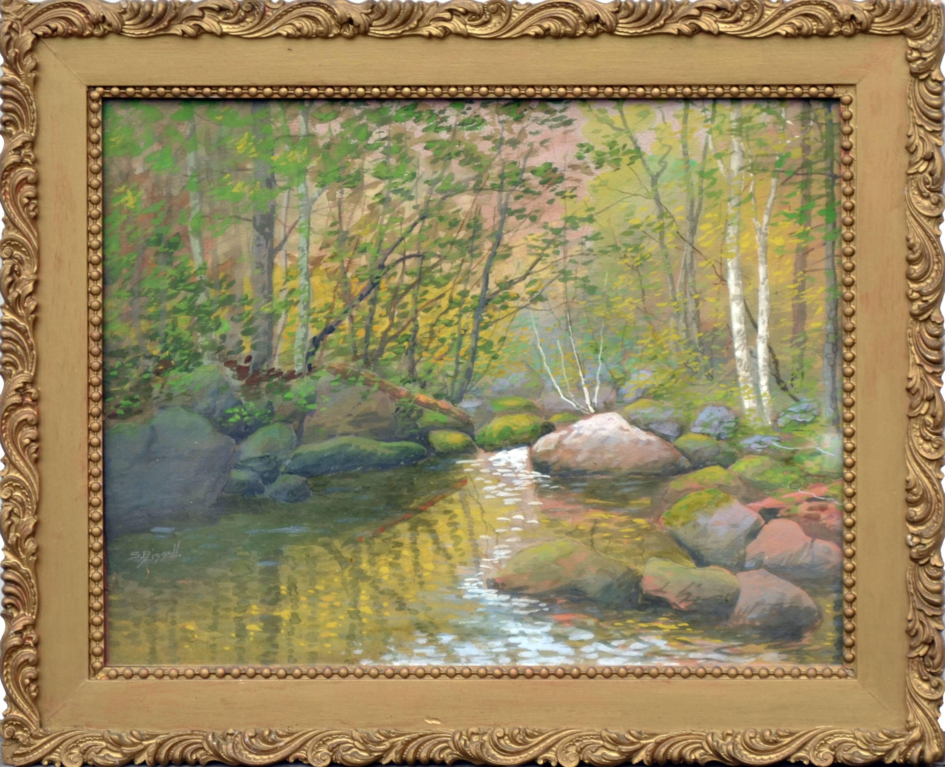 Late 19th Century Sunlight Brook Landscape
