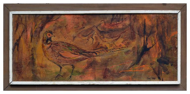Mid Century Modern Pheasant