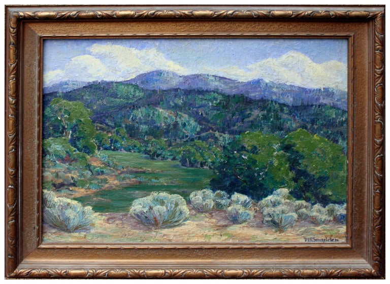 Unknown Landscape Painting - Mouth of the Canyon Taos, New Mexico