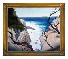 """Through the Shadows, Pt. Lobos"", Monterey Seascape"