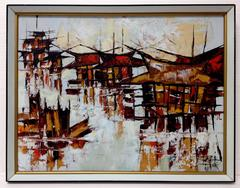 Abstract Harbor, 1965
