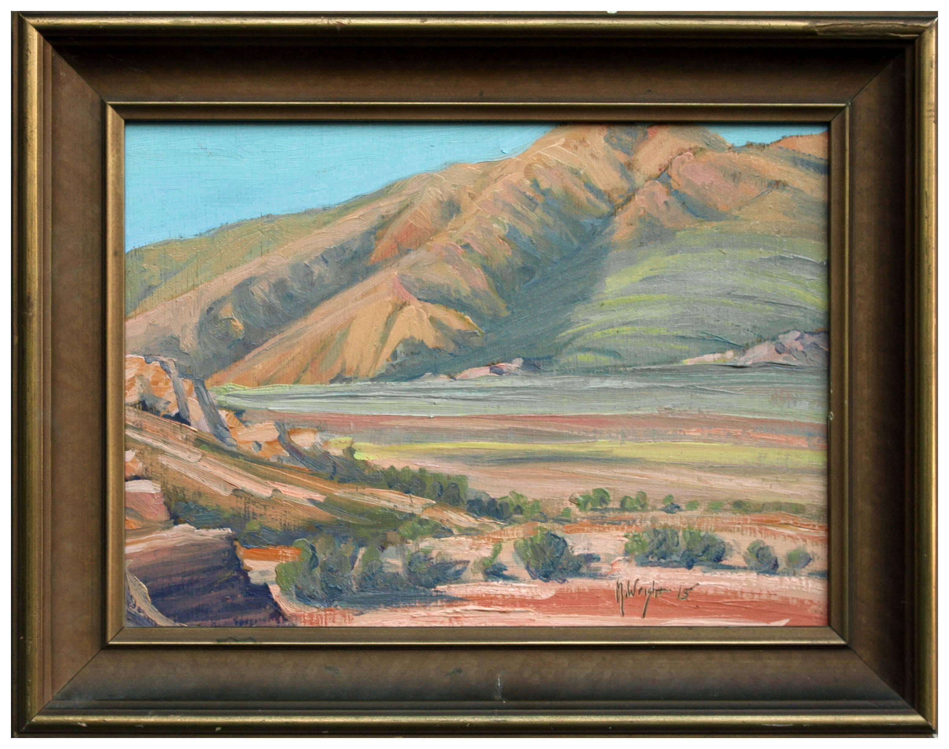 Desert and Hills Landscape