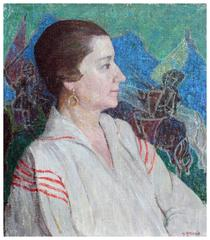 Portrait of a Woman, Emily Murphy Canadian