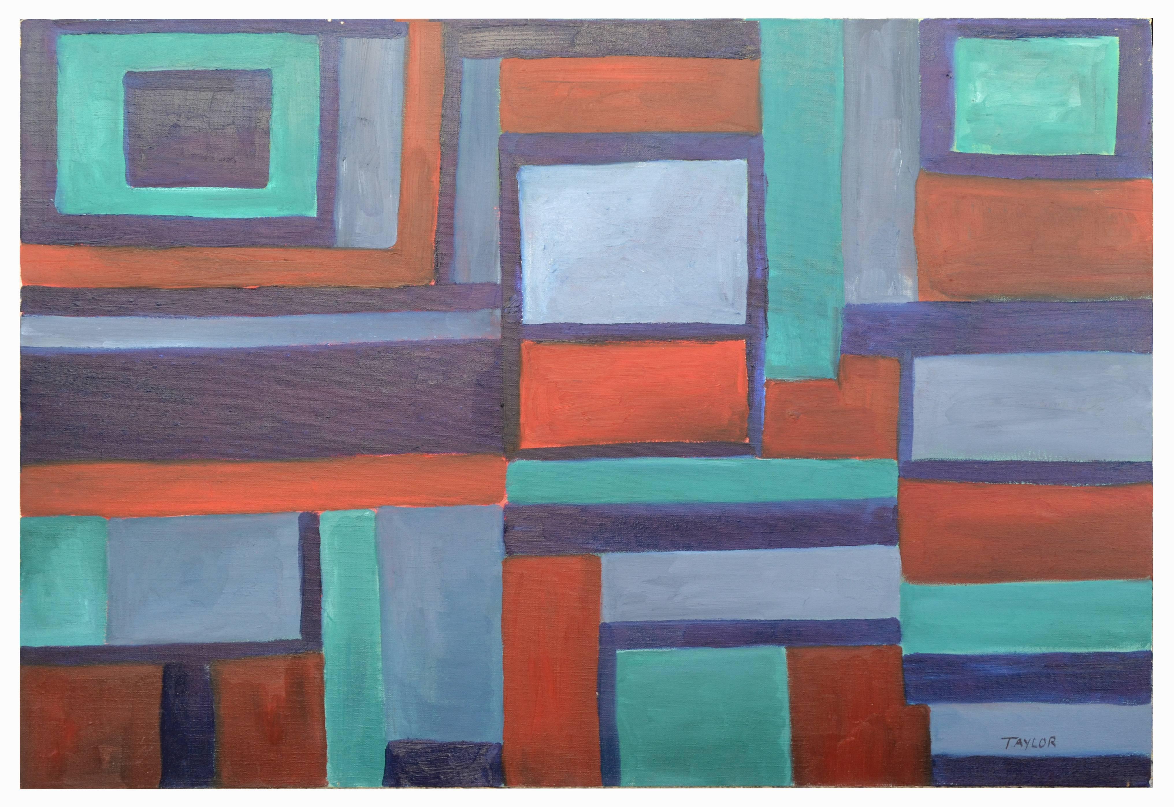 Berkeley Hills Geometric Abstract