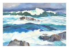 Rough Seas Seascape