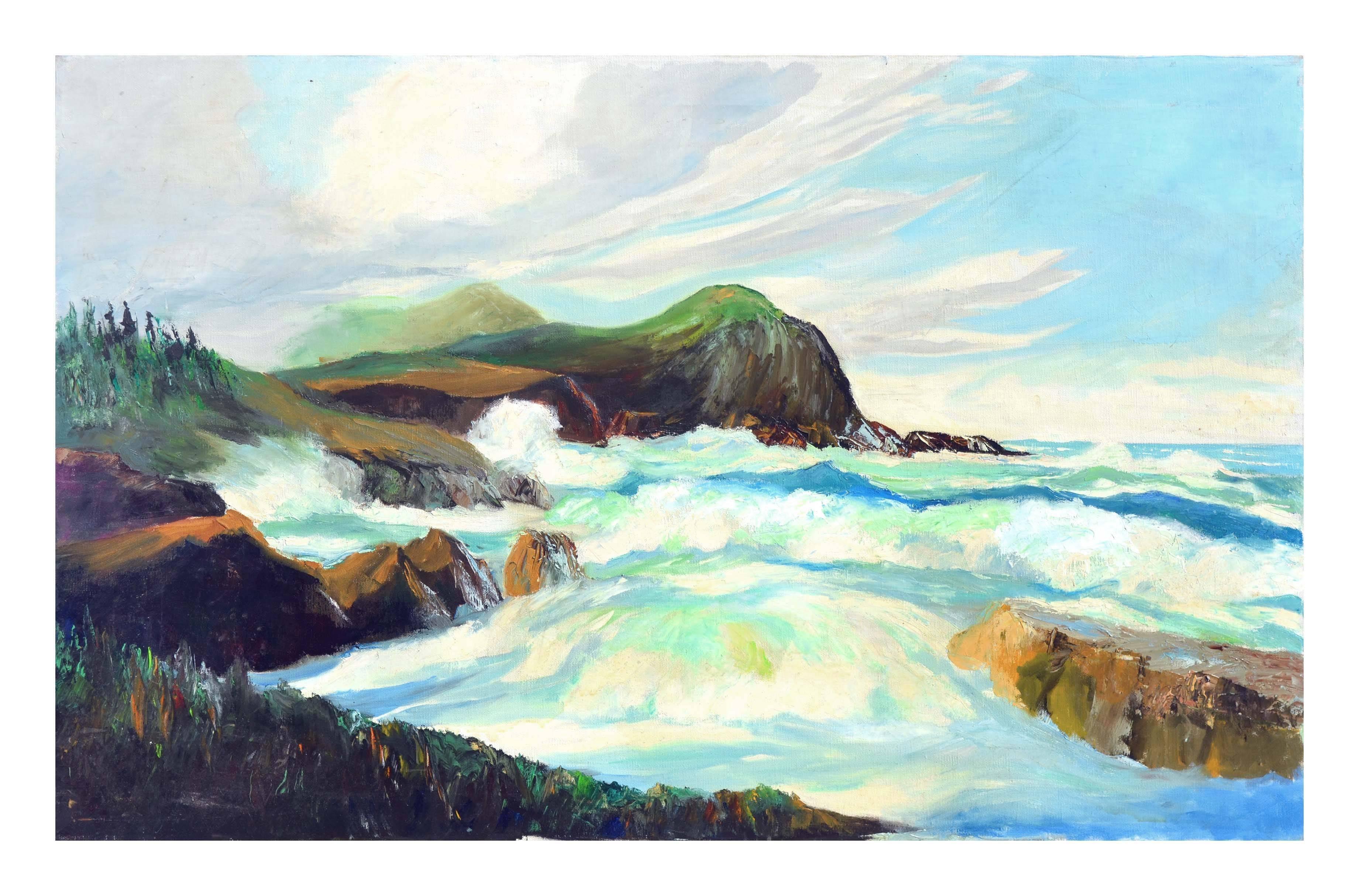 Big Sur California Coast Seascape