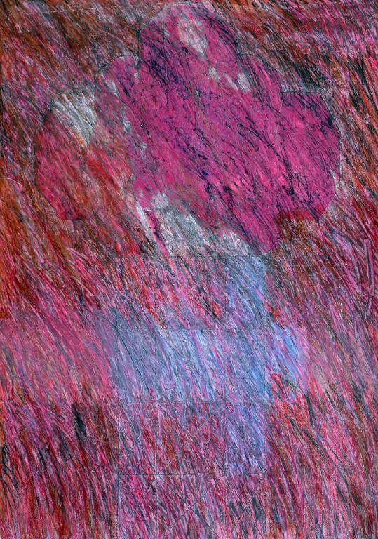 Maureen Fenton-Hansen Abstract Painting - Magenta Abstract