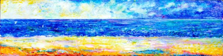 John Faulkner Abstract Painting - Northern California Coastlands