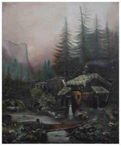 Yosemite, El Capitan  with Mill