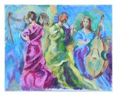 The Musicians Figurative