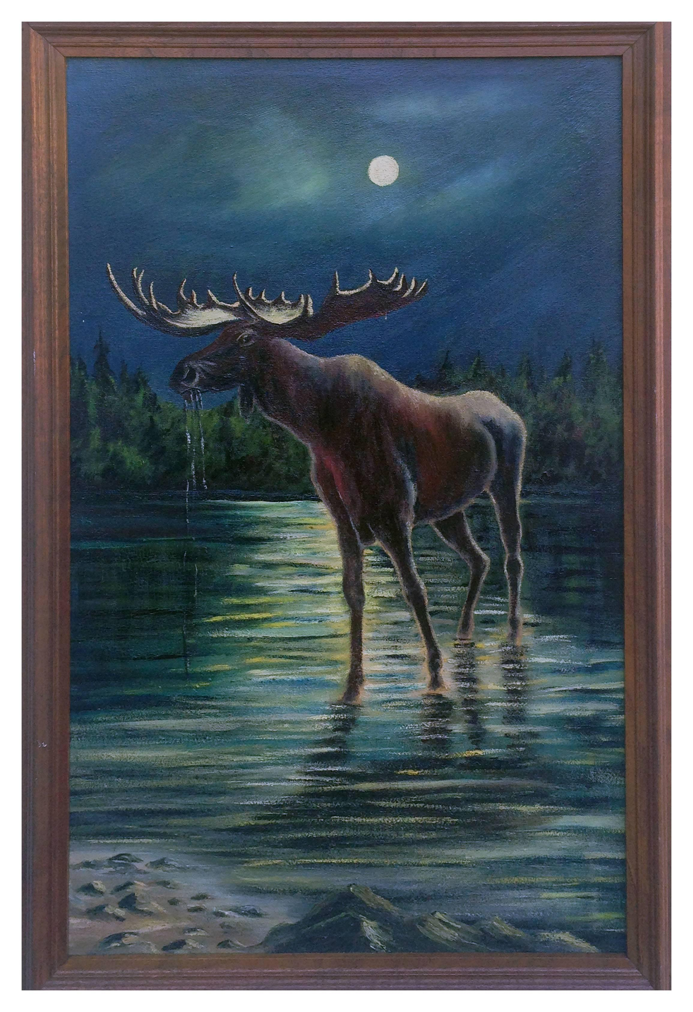 Turn of the 20th Century Majestic Moose