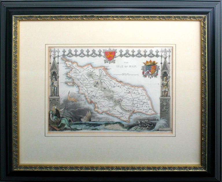 Thomas Moule Landscape Print - The Isle of Man, 1833