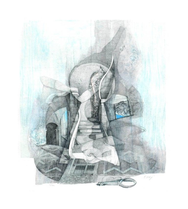 Venetian Keyhole by Katherine Chang Liu - Print by  Katherine Chang Liu