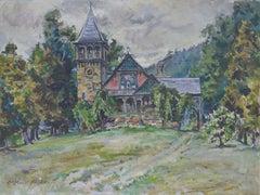 Mid Century Black Forest Chalet