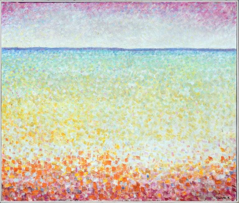 John Faulkner Abstract Painting - Ocean Suite #1