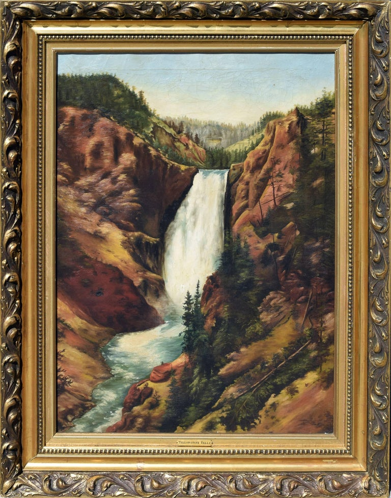 Yellowstone Falls 1898