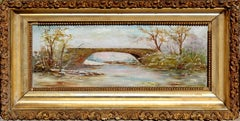 Late 19th Century Serene Waters Landscape