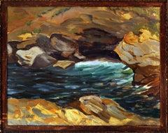 Water on the Rocks Landscape
