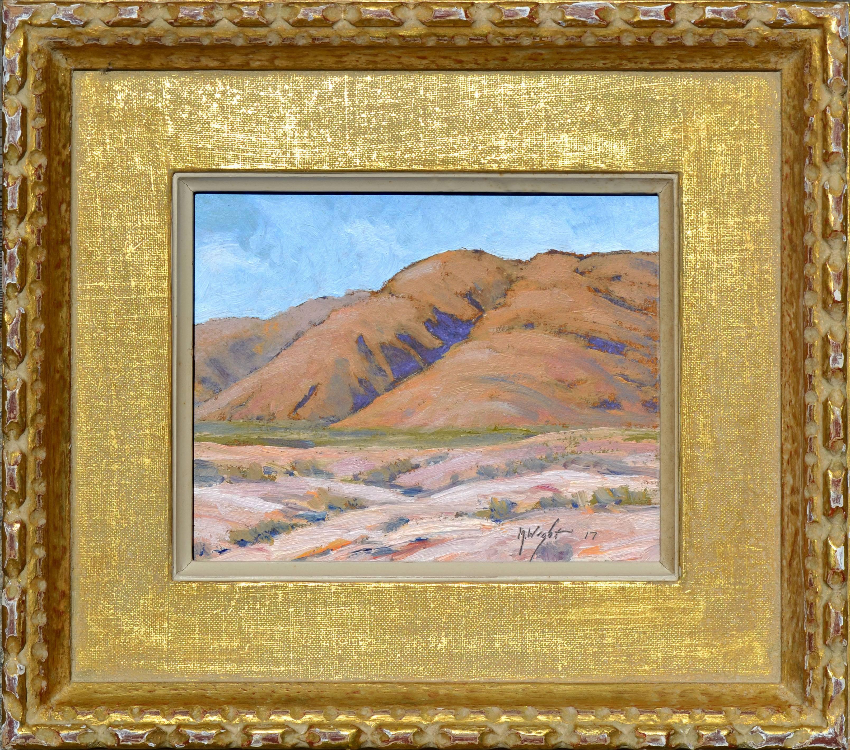 Desert Mountains Landscape