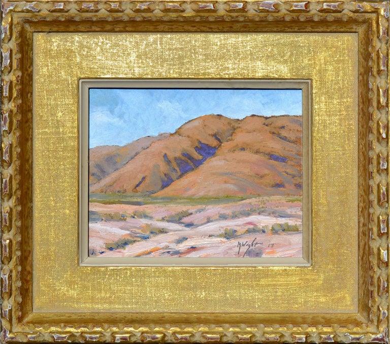 Michael Wright Landscape Painting - Desert Mountains Landscape