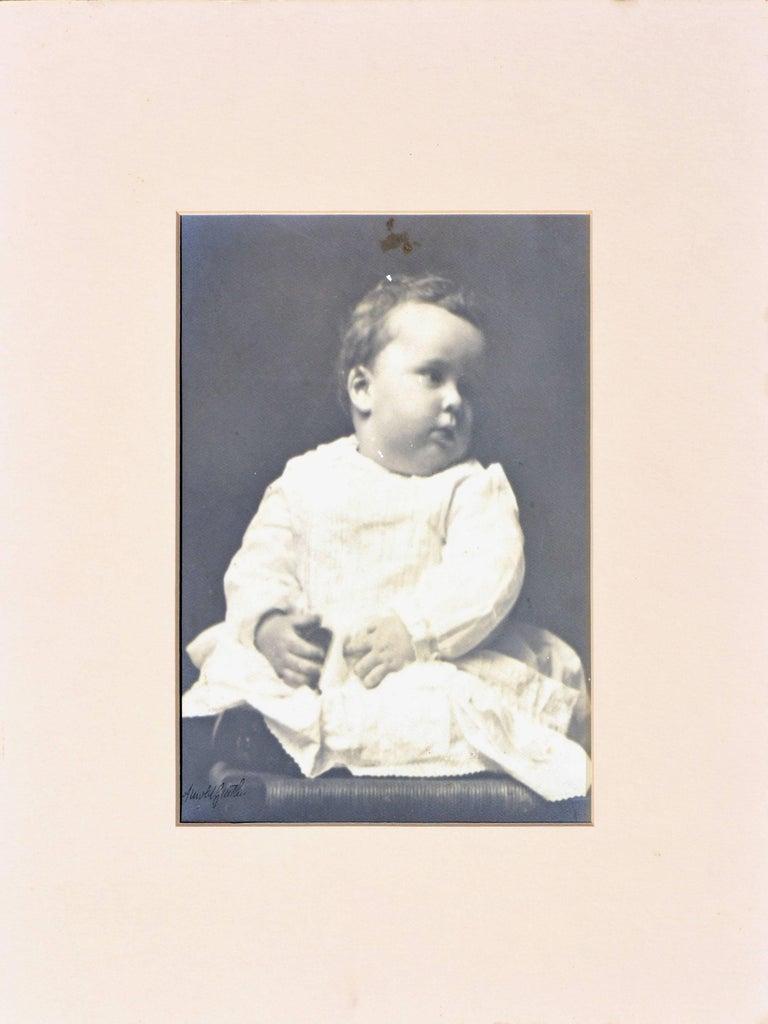 The poet's son Billie 1898, Arnold Genthe