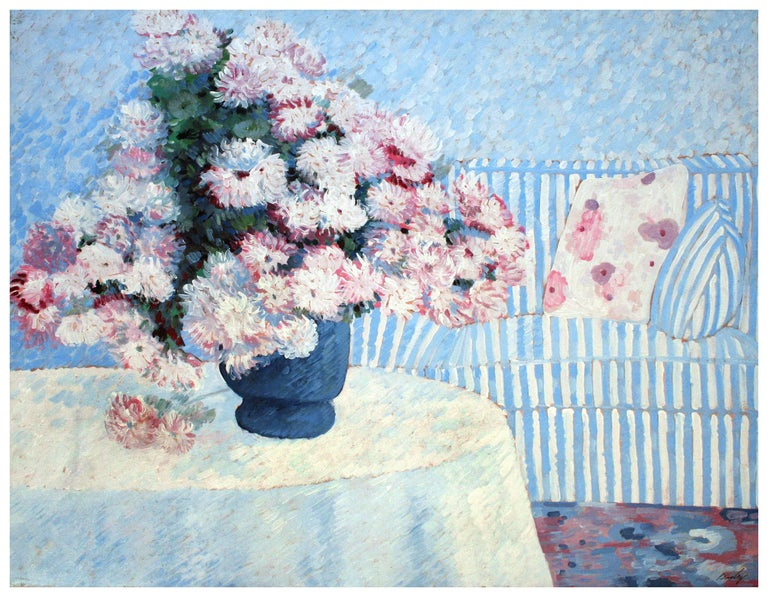 Pink white flowers bill bagley still life painting pink white flowers mightylinksfo