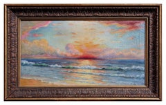 Red Sunset Seascape