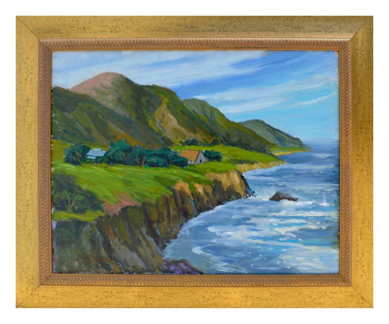 Big Sur Coastal Farm by Ray Barton