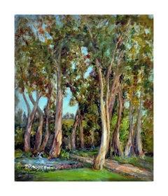 The Eucalyptus Grove by Helen Gleiforst