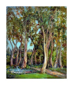 Mid Century The Eucalyptus Grove Landscape