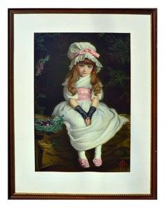 Cherry Ripe, Girl in a Bonnet