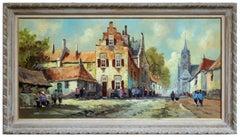 Holland Fishing Village - Mid Century Landscape