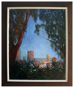 Overlooking San Francisco - Mid Century Landscape