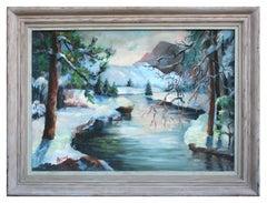 Merced River Yosemite Landscape