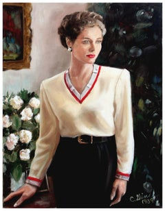 Portrait of Princess Grace of Monaco