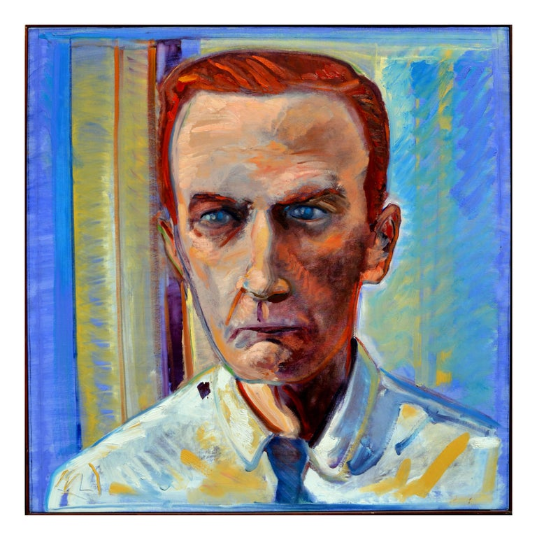 Edgy Portrait of Cornell Woolrich by Chris Pelletiere