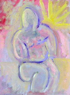 Figure in Pink Daniel Fuentes