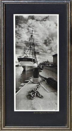 Ship at the Dock, San Francisco '62