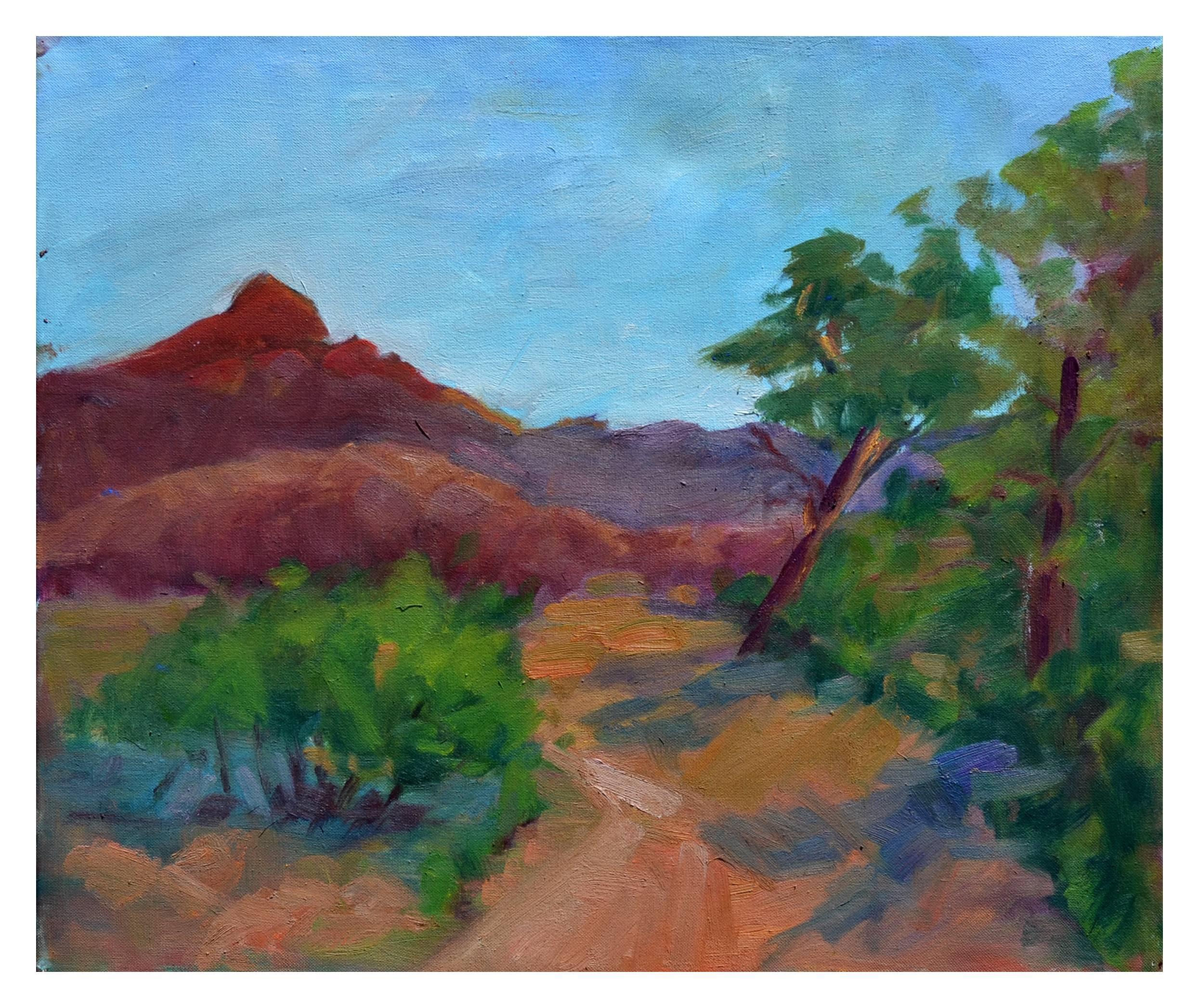 Distant Mountains Landscape