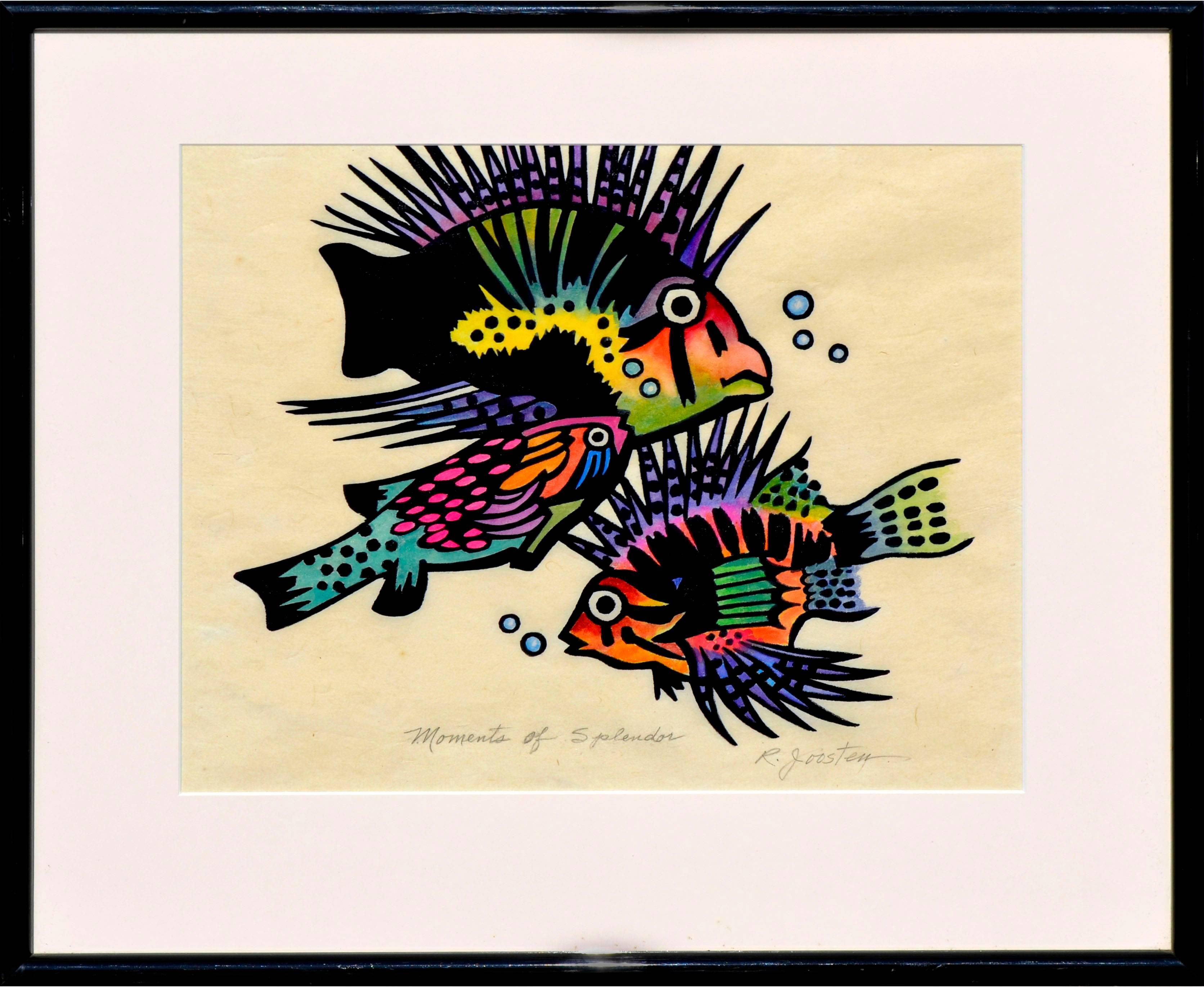 Fauvist Fish -- Moments of Splendor